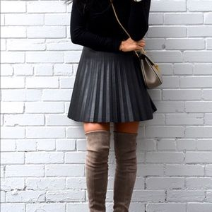 New J crew faux leather skirt 00